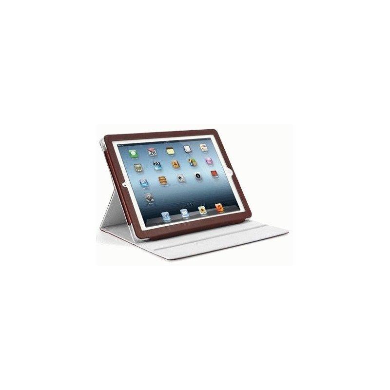 Чехол для ipad 3 New/iPad 2 SGP Folio Series Leather Case Dark Brown