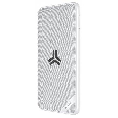 Внешний аккумулятор Baseus Power Bank Wireless Charger Baseus S10 Bracket 10000mAh White (PPS10-02)