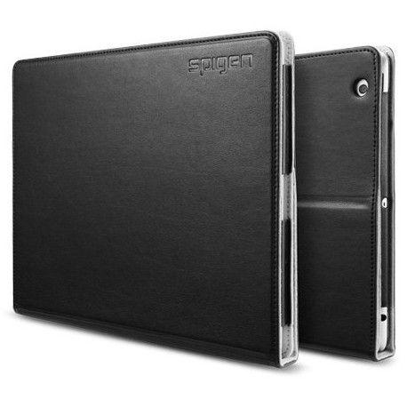 Чехол для ipad 3 New/iPad 2 SGP Folio Series Leather Case Black
