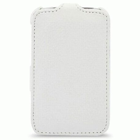 Кожаный чехол Melkco Flip (JT) для HTC Sensation XL (X315E) White