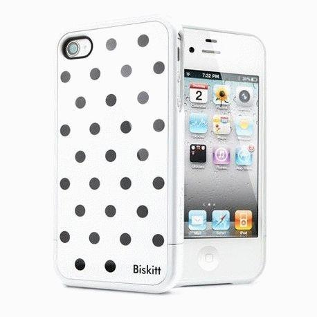 SGP iPhone 4/4s Case Linear Biskitt Series Dalmatian черный