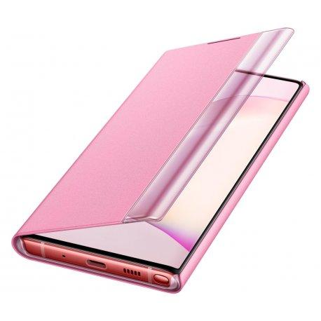 Чехол Clear View Cover для Samsung Galaxy Note 10 Pink (EF-ZN970CPEGRU)