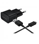 Сетевое зарядное устройство для Samsung 2A Black (EP-TA12EBEUGRU)