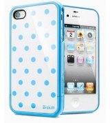 SGP iPhone 4/4s Case Linear Biskitt Series Spitz голубой
