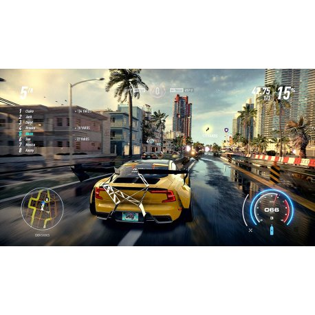 Игра Need for Speed Heat для Sony PS4 (русская версия)