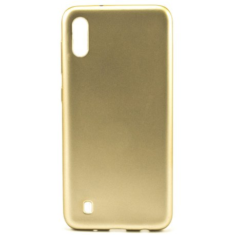 Накладка Silicone Case Rock для Samsung Galaxy M10 Gold