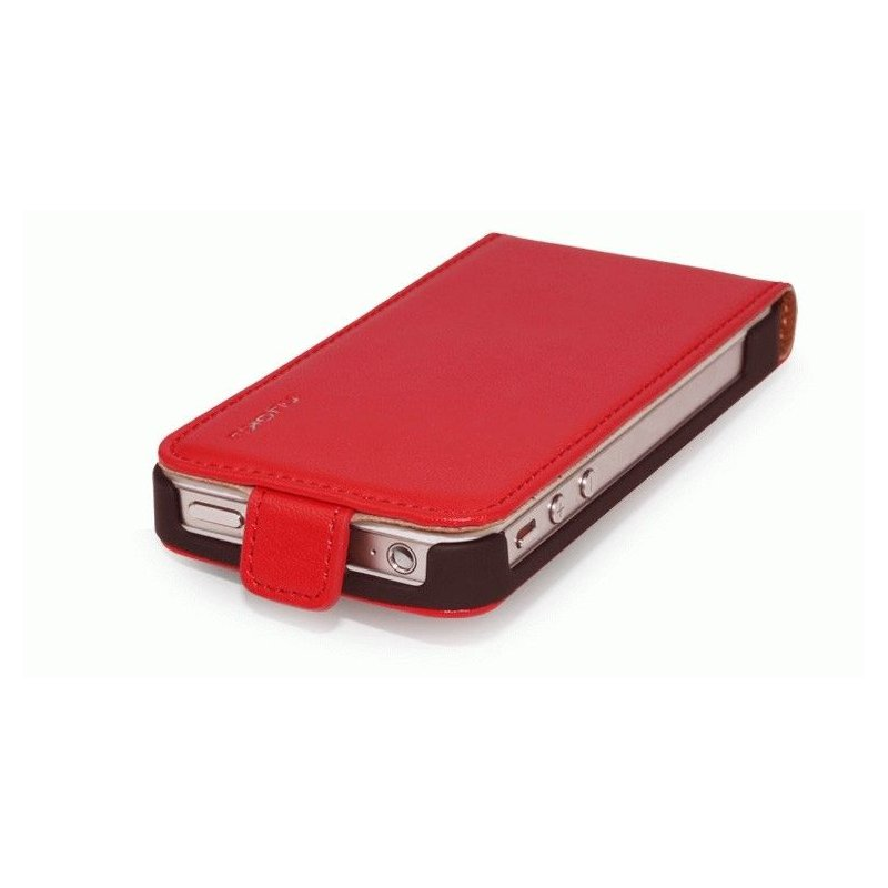 Чехол для iPhone 4/4s Nuoku Cradle Red