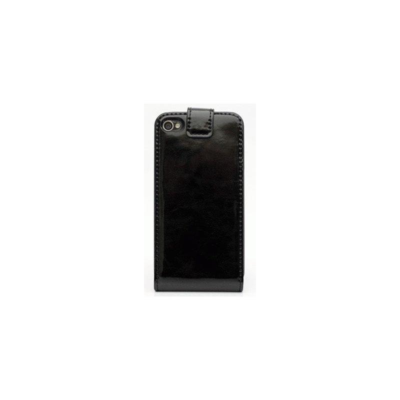 Чехол для iPhone 4/4s Nuoku Flip Black