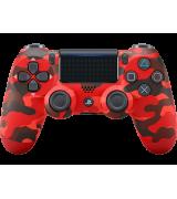 Беспроводной джойстик Dualshock 4 V2 Red Camouflage (PS4)