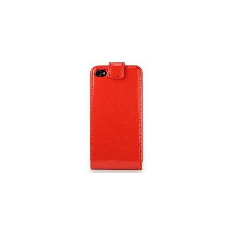Чехол для iPhone 4/4s Nuoku Flip Red