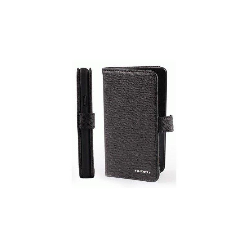Чехол для Samsung Galaxy S II i9100 Nuoku Book Black