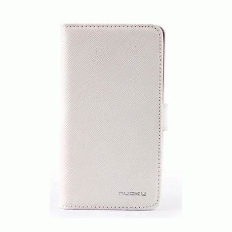 Чехол для Samsung Galaxy S II i9100 Nuoku Book White