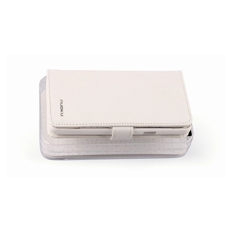 Чехол для Samsung Galaxy S II i9100 Nuoku Book White