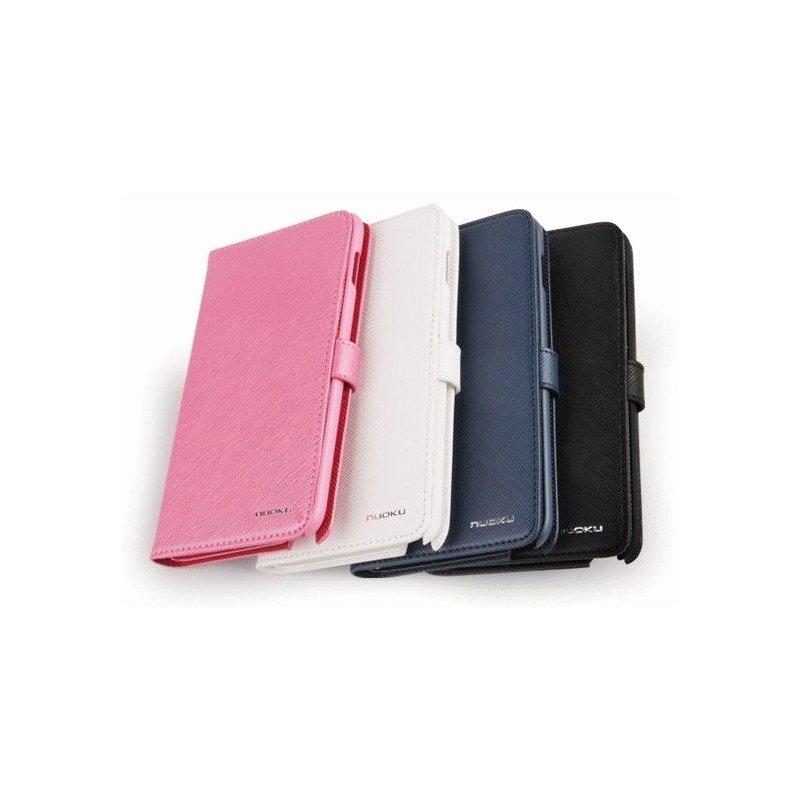 Чехол для Samsung Galaxy Note N7000 Nuoku Book Blue