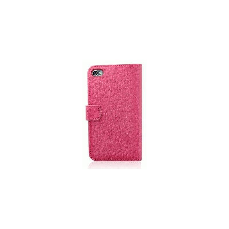 Чехол для iPhone 4/4s Nuoku Book Pink