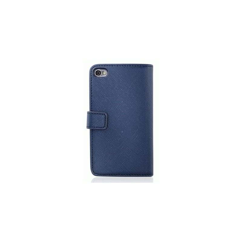 Чехол для iPhone 4/4s Nuoku Book Blue