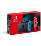 Nintendo Switch with Neon Red and Neon Blue Joy-Con (Обновлённая версия) HAC-001(-01)