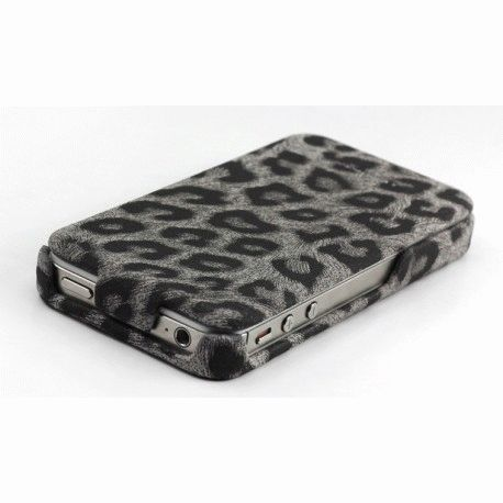 Чехол для iPhone 4/4s Nuoku LEO Black