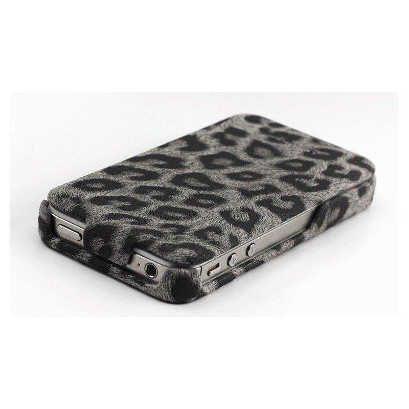 Чехол для iPhone 4/4s Nuoku LEO Black