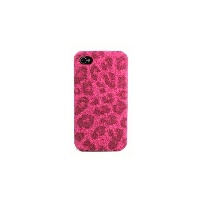 Чехол для iPhone 4/4s Nuoku LEO Pink