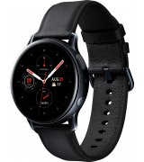 Умные часы Samsung Galaxy Watch Active 2 40mm Stainless steel Black (SM-R830NSKASEK) + Карта памяти на 64Gb в подарок!