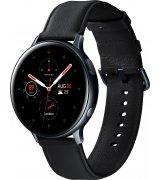 Умные часы Samsung Galaxy Watch Active 2 44mm Stainless steel Black (SM-R820NSKASEK) + Карта памяти на 128Gb в подарок!