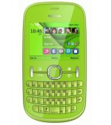 Nokia Asha 200 Duos Green