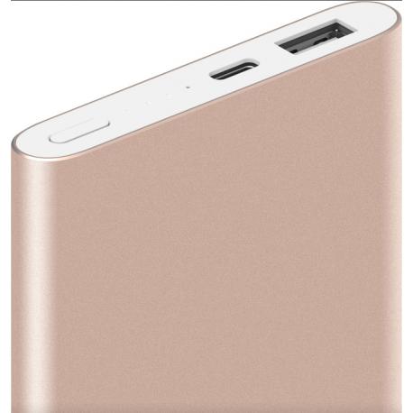 Xiaomi Mi Power Bank 10000 mAh Pro 10000mAh QC2.0 Type-C Gold (PLM01ZM)