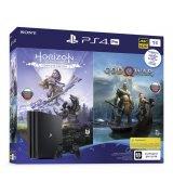 Sony PlayStation 4 Pro 1Tb Black + God of War + Horizon Zero Dawn. Complete Edition