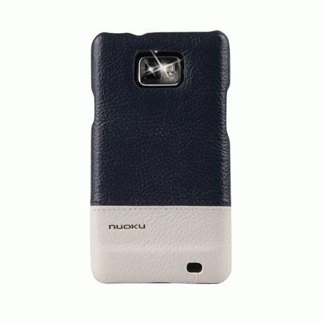 Чехол для Samsung Galaxy S II i9100 Nuoku Royal CV Blue