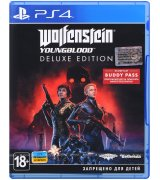Игра Wolfenstein: Youngblood. Deluxe Edition для Sony PS 4 (русская версия)