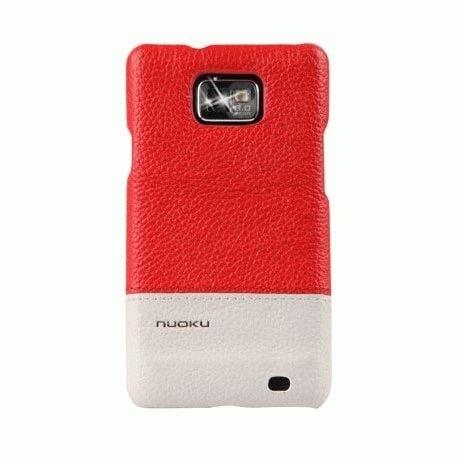 Чехол для Samsung Galaxy S II i9100 Nuoku Royal CV Red