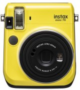 Камера моментальной печати Fujifilm Instax Mini 70 Yellow (16496110)