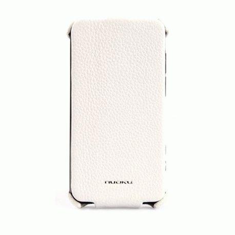 Чехол для HTC Evo 3D X515m Nuoku Royal White