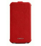 Чехол для HTC Sensation Z710e Nuoku Royal Red