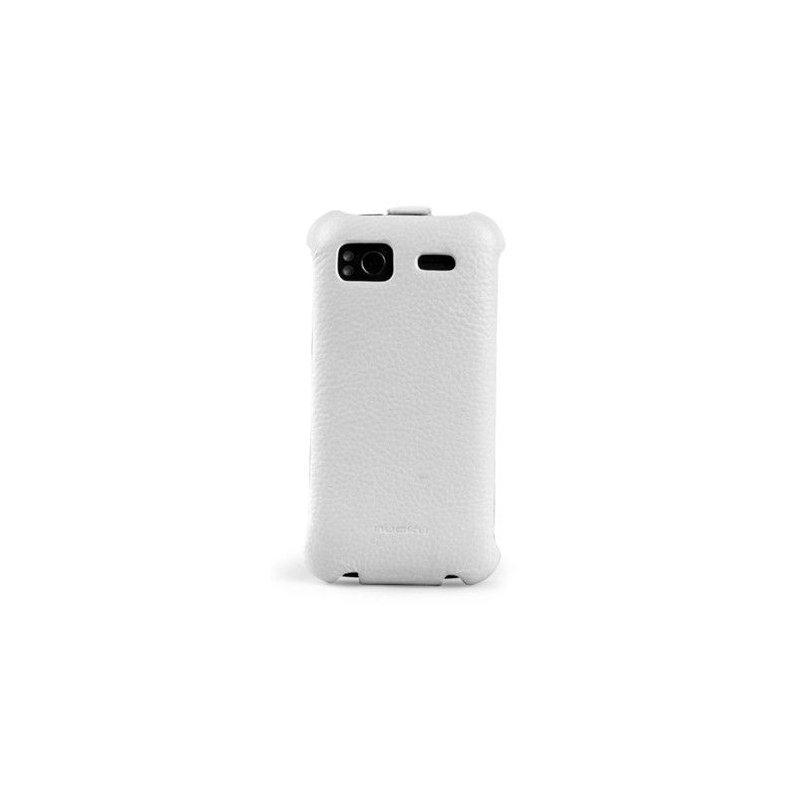Чехол для HTC Sensation Z710e Nuoku Royal White