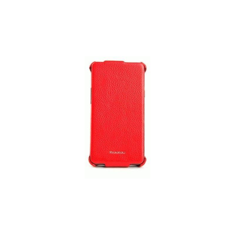 Чехол для Samsung Galaxy S II i9100 Nuoku Royal Red