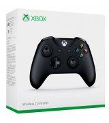 Беспроводной джойстик Microsoft Xbox One S Wireless Controller Black