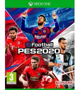 Игра eFootball Pro Evolution Soccer 2020 (PES 2020) для Microsoft Xbox One (русские субтитры)
