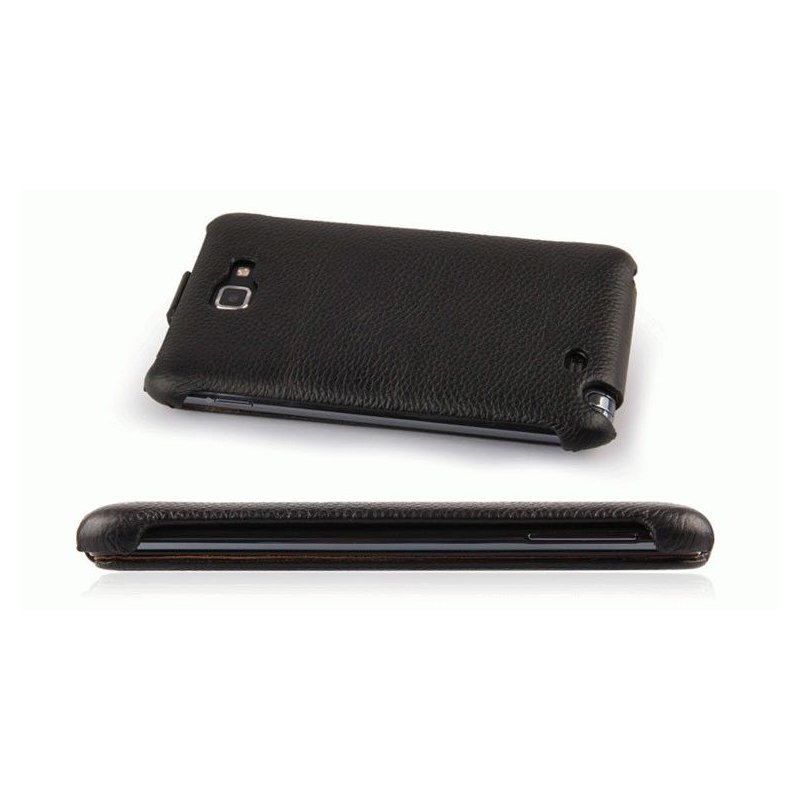 Чехол для Samsung Galaxy Note N7000 Nuoku Royal Black