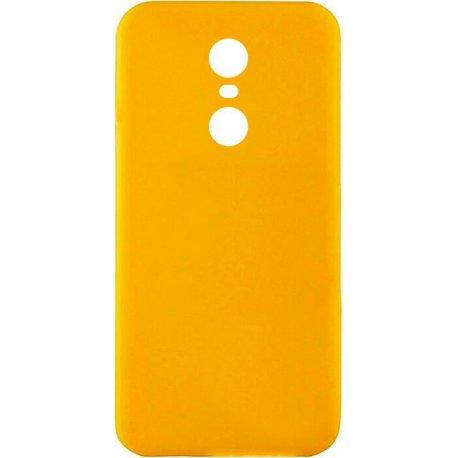 Накладка Silicone Case для Xiaomi Redmi 5 Plus Yellow