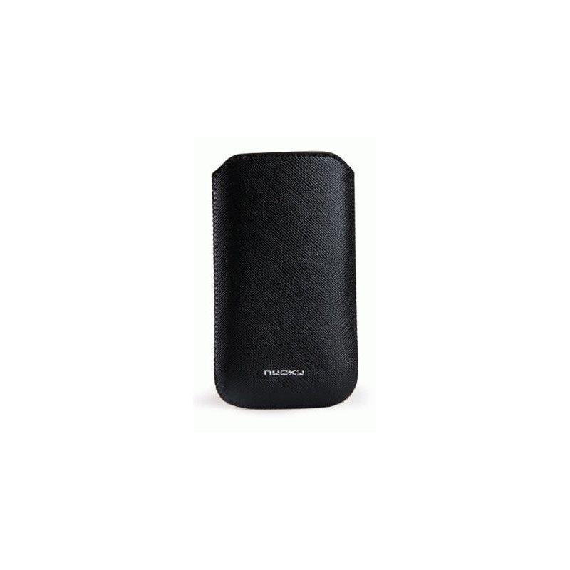 Чехол для iPhone 4/4s/3gs Nuoku Slim Black