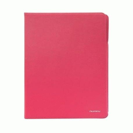 Чехол для ipad 3 New/iPad 2 Nuoku Dual Leather Case Pink