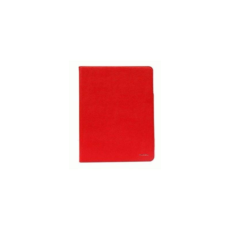 Чехол для ipad 3 New/iPad 2 Nuoku Dual Leather Case Red