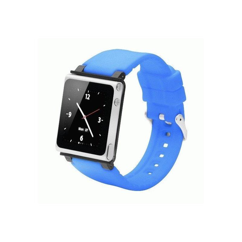 Ремешок iWatchz Q Collection для iPod Nano Blue