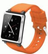 Ремешок iWatchz Q Collection для iPod Nano Orange
