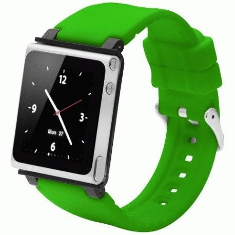 Ремешок iWatchz Q Collection для iPod Nano Green