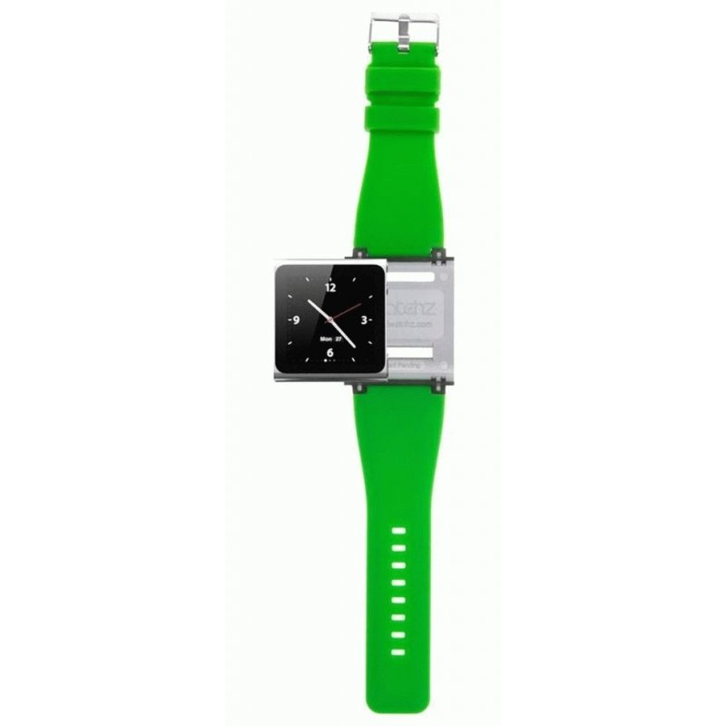 Ремешок iWatchz Q Collection для iPod Nano Green