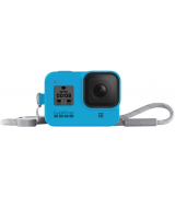 Чехол + ремешок Sleeve & Lanyard для GoPro HERO8 Blue (AJSST-003)