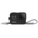 Чехол + ремешок Sleeve & Lanyard для GoPro HERO8 (AJSST-001) Black